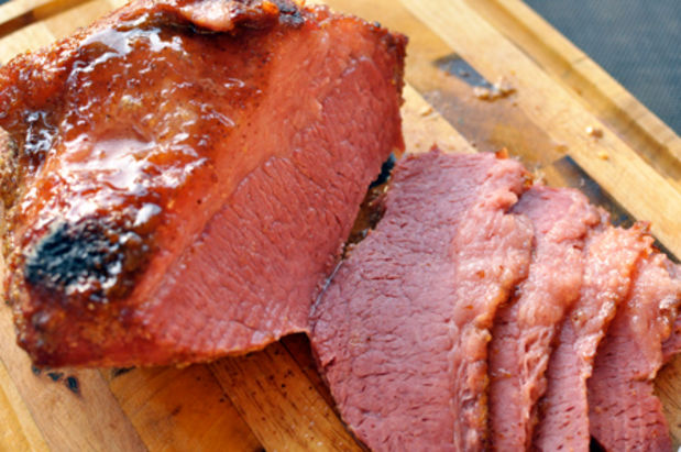 Corned Beef with Brown Sugar