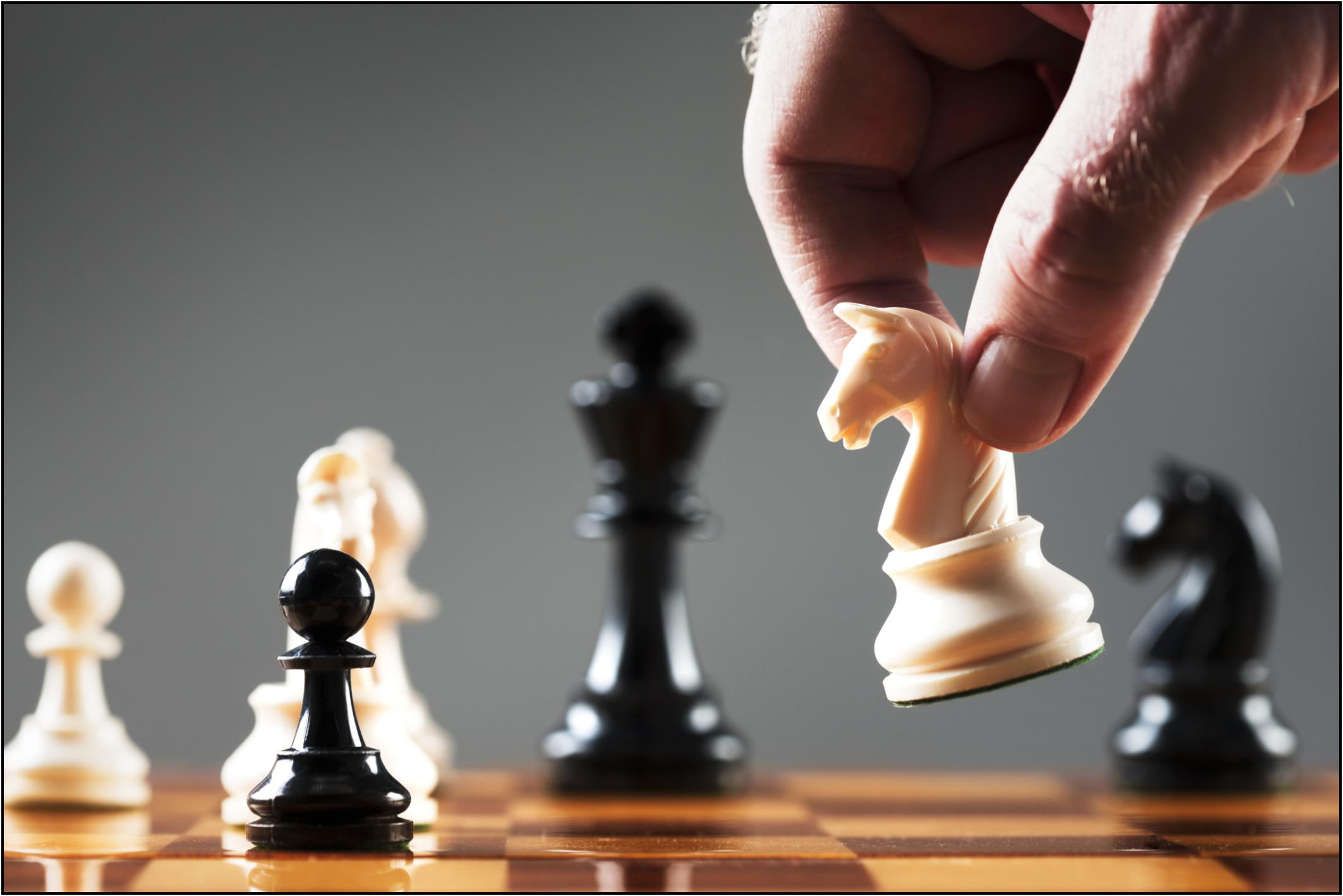 Chess Game is Like Bidding