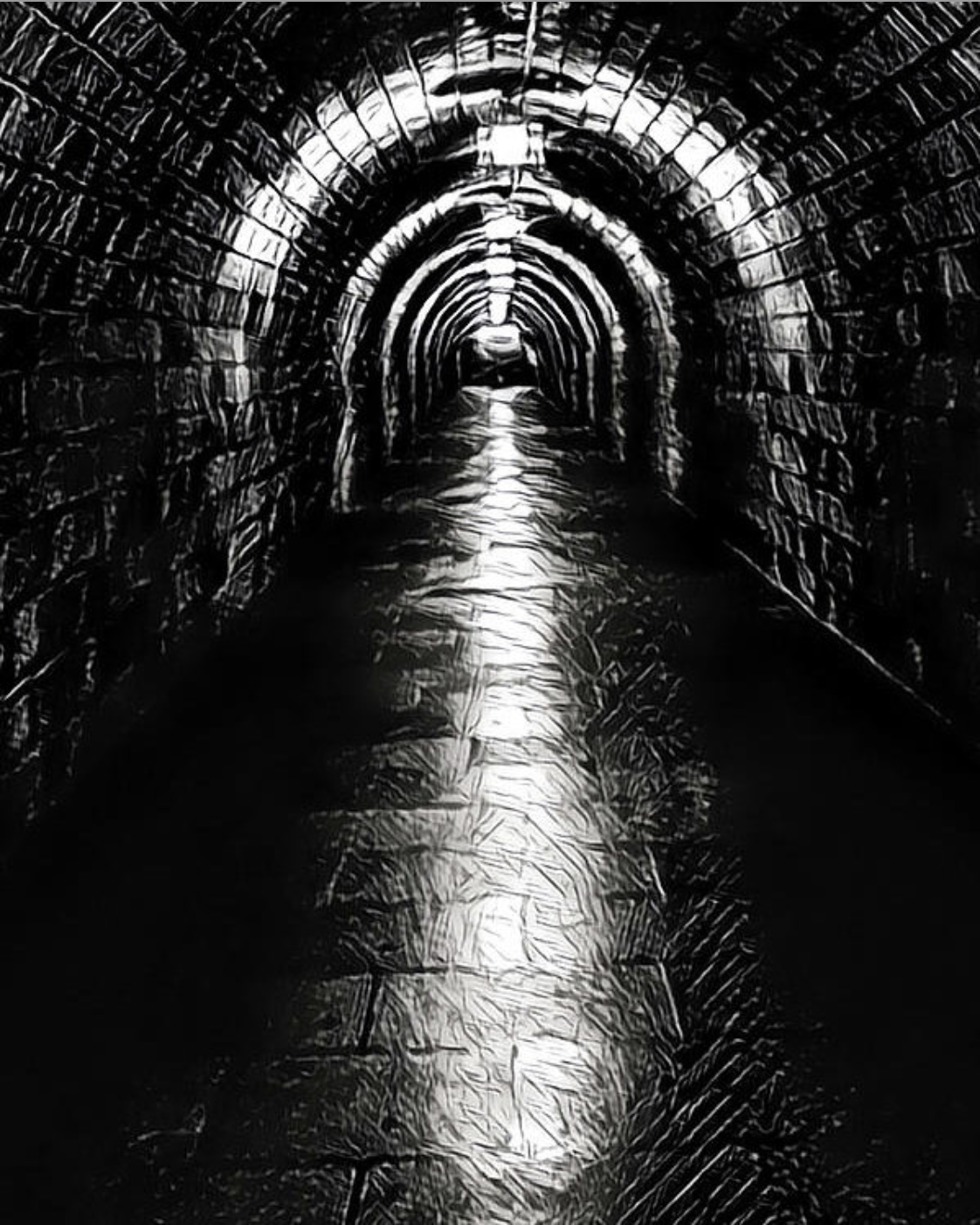 темные туннели картинки один