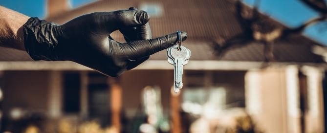 Handing over t he keys