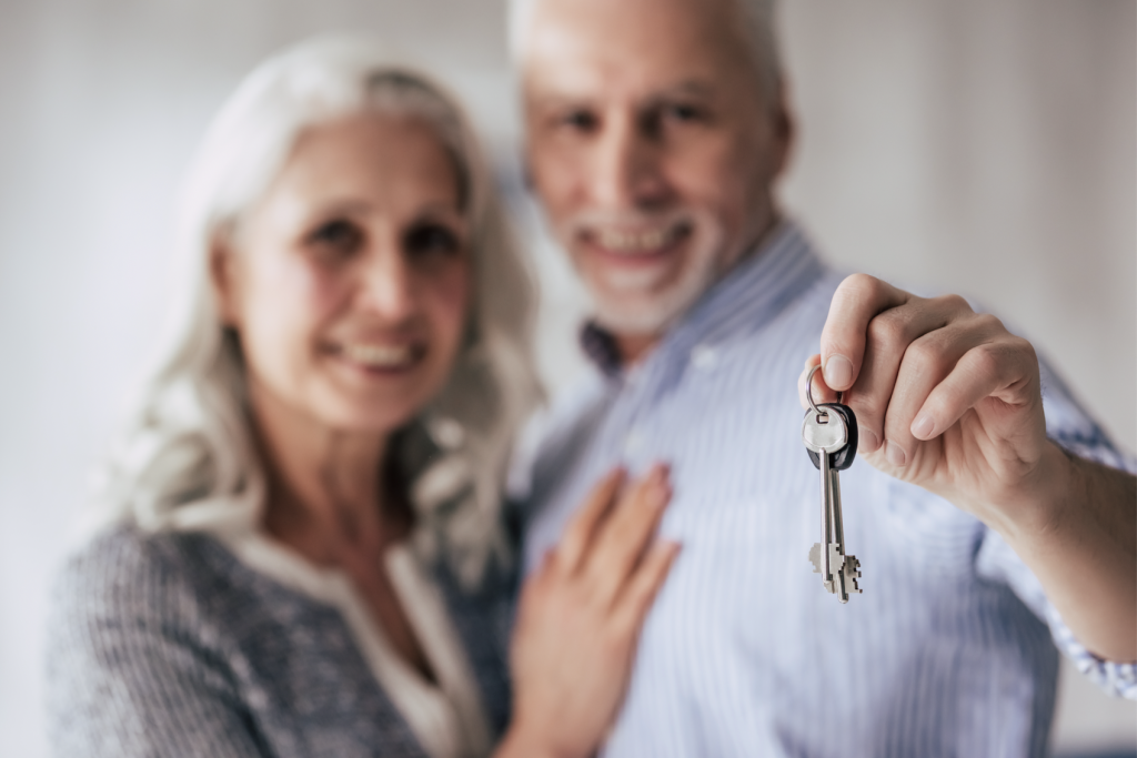 Retired couple moving their tax base